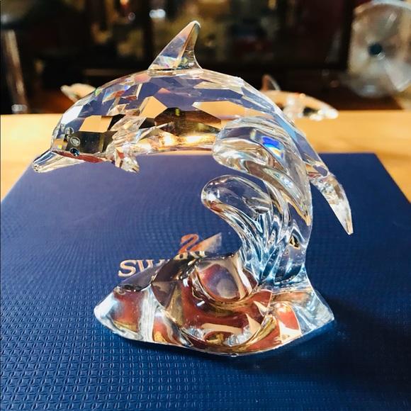 segunda mano Sip mago  Swarovski Other | Crystal Dolphin Larger | Poshmark